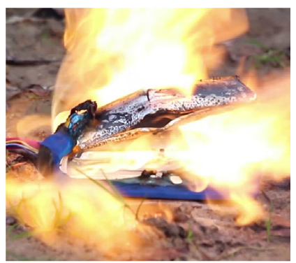 pożar baterii Li-Ion